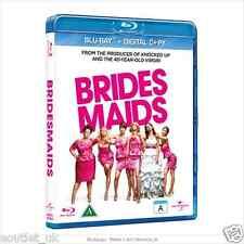 Bridesmaids Blu-ray + Digital Copy Region B NEW SEALED Kristen Wiig