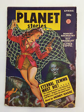PLANET STORIES – Spring 1949 Sci-Fi Pulp Digest – Bradbury – Cover Art by Anders