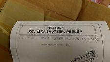 Universal Instruments 46185304 Kit, 12X8 Shutter/Peeler for 45387402 feeder