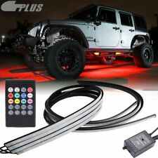 8 Color Led Car Truck Under Body Neon Accent Glow Light Kit for Jeep Ford Chevy
