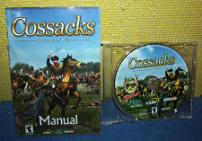 CDV Cossacks The Art of War PC CD-ROM with Manual