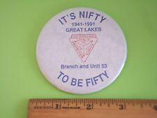 Coast Guard Great Lakes Fleet Reserve Assn. 50 Year Badge, 1941-1991