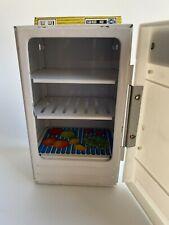 STS Blechspielzeug Puppenküche großer amerikanischer Kühlschrank Refrigerator