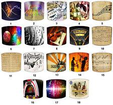 Notas Musicales Diseño Pantallas de Lámpara para Combinar Colchas & Cobertor