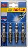 Bosch 0242235973 High Performance FR7LPX Platinum Plus Spark Plugs P5-4 Set of 4
