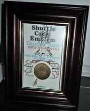"2003 NASA ""Columbia Sts-107"" Space Shuttle Crew Emblem Framed 1800mm x 2300mm"