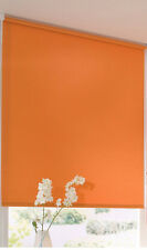 Seitenzugrollo orange 62 x 180 cm Sonnenschutzrollo mit Abdunklung