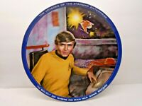 Star Trek CHEKOV Collector's Plate Susie Morton Planet Earth