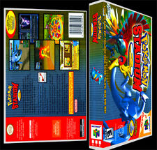 Pokemon Stadium 2 - N64 Reproduction Art Case/Box No Game.
