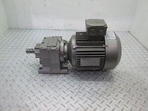 SEW GEARBOX D27DT90L4 8.16 RATIO W/ SEW MOTOR DFT90L4 2 HP 208/360V 1720 RPM