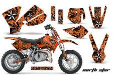 Dirt Bike Decal Graphics Kit Sticker Wrap For KTM SX50 SX 50 2002-2008 NORTHSTAR