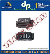 MERCEDES W124 W126 W201 CONSOLE POWER WINDOW SWITCH 1248204510 + 1248204610 SET