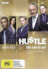 Hustle : Series 4 (DVD, 2012, 2-Disc Set) Region 4 Comedy TV Series DVD Rated PG