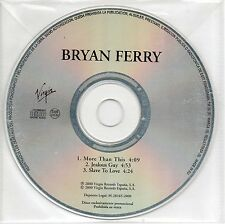 "BRYAN FERRY ""MORE THAN THIS"" SPANISH PROMOTIONAL CD SINGLE / JOHN LENNON"