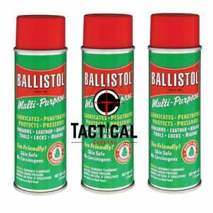 Ballistol  3 Cans of 6 oz Spray Gun Cleaning Lubricant Made in USA
