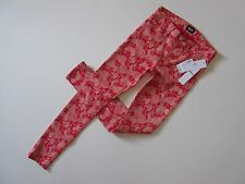 NWT HUDSON Nico Super Skinny in Scarlet Posey Floral Stretch Ankle Jeans 27 $198