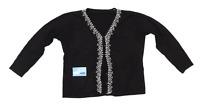 BHS Womens Size 18 Floral Black Cardigan (Regular)