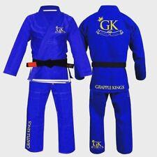 Grapple KINGS BJJ GI BLUE Tatami Koral MMA fight judo juijitsu FREE Delivery A2