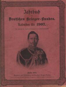 Jahrbuch des Deutschen Krieger-Bundes - Kalender für 1907  (illustriert)