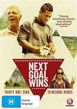 NEXT GOAL WINS DVD, REGION 4, NEW & SEALED, FREE POST!