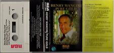 HENRY MANCINI Pure Gold (Cassette) RCA – AYK1-3667