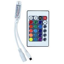 Mini Controleur RGB 12V 6A pour ruban led avec télécommande 24 touches