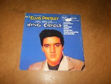 ELVIS PRESLEY - KING CREOLE  - EP UK RCA 7201- ONLY COVER NO RECORD