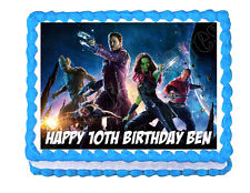 Guardians of the Galaxy Party Edible Cake topper decoration frosting sheet