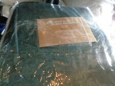 1 West Elm cotton Luster Velvet drape panel 48 96  New