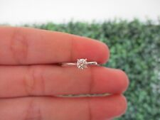 .30 Carat Diamond White Gold Engagement Ring 18k ER331 sep