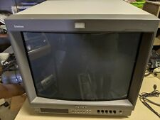SONY PVM-20L2 Professional Video Monitor 2003 [NO RESERVE]