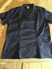 MEDLINE BUtTON DOWN  SHORT SLEEVE SCRUB SHIRT Size 3X