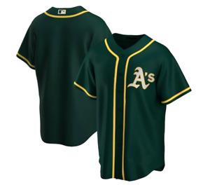 Fanmade Oakland Athletics Team Jersey - Green S-4XL