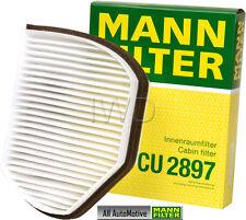 Cabin Filter fits Mercedes  C220 C230 C280 SLK320 SLK230 MANN CU2897 2108300818
