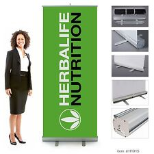 Herbalife Nutrition Retractable Banner 7ft tall