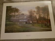 Military Art Print - Keogh Barracks, Army Medical Services Sergeants' Mess.