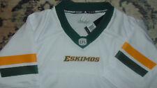 Edmonton Eskimos CFL Adidas Jersey Mens Size 2XL NEW