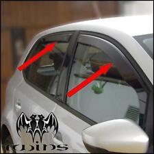 4 Deflettori Antiturbo Oscurati VW Polo 6R 5 porte MK5 dal 2009 Volkswagen