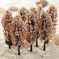 20PCS Sand Table Flower Trees Model Train Railway Road Scenery Landscape Z 1:200
