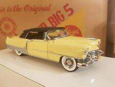 Apollo Gold 'Yellow' 1954 Cadillac Eldorado Convertible Danbury Mint 1:24