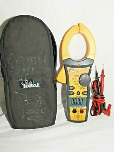 IDEAL Electrical 61-773 TRMS AC Clamp Meter, 1000AAC W/ TIGHTSIGHT DIGITAL