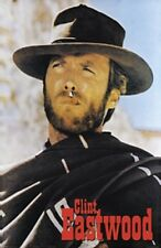CLINT EASTWOOD GOOD BAD AND THE UGLY PONCHO POSTER NEW 24x36 FAST FREE SHIPPING