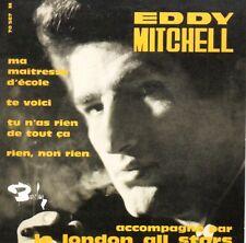CD Single Eddy MITCHELL Ma maîtresse d'école EP REPLICA 4-TRACK CARDSL + RARE