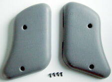 ONE LOT OF 2 PLASTIC COVERS AND SCREWS FOR LEFT AND RIGHT SIDES