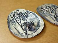 Wall Decor Bud Vase Studio Pottery Wall Pocket Nature Pressed Flowers Ceramic