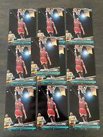 MINT LOT- 10 1992-93 Fleer Ultra Scottie Pippen #213 Chicago Bulls Jam Session