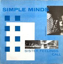 Simple Minds - Sister Feelings Call - Vinyl LP 33T
