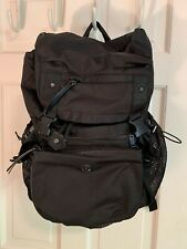 Lululemon RARE Black Yogi Camp Backpack With Removable Crossbody Bag
