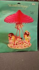 """Vintage The Bells Are Ringing Wedding Shower Centerpiece 12"""" Tall 1973 NIP"""