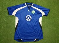 VFL Wolfsburg Trikot XXL 2000 2001 Puma Shirt jersey Auswärts 00/01 VW Blau